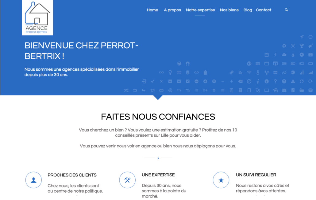 Site internet agence immobilier