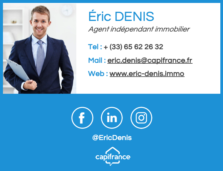 Signature mail Agent immobilier