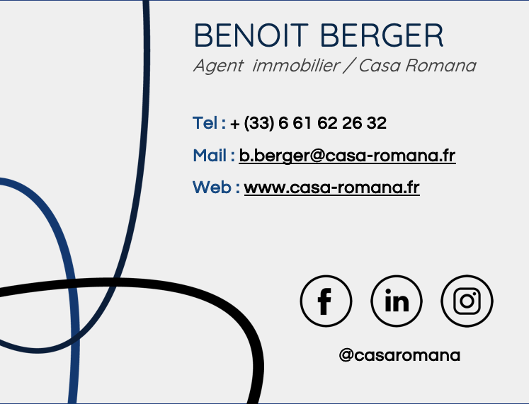 Signature mail immobilier